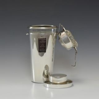 Barman Cocktail Shaker, circa 1930