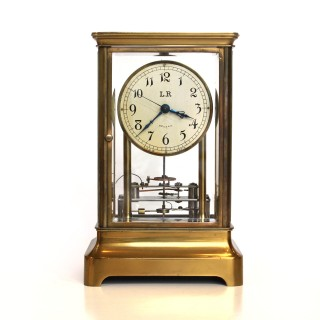 Frank Holden electromagnetic Four-Glass clock, c.1925