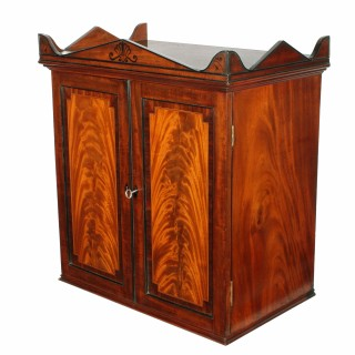 Unusual Georgian Collector's Cabinet