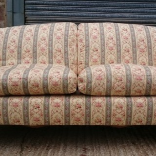 Large and Comfortable Antique Howard and Sons Portarlington Sofa