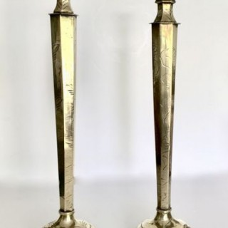 Tall Chinese Candlesticks