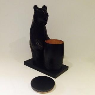 Russian Bear Tobacco Jar.