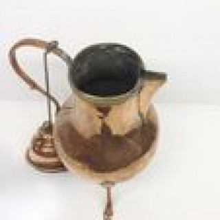 Antique Copper Coffee Pot.