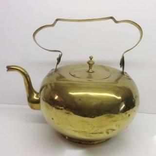 Brass Dutch Tea Kettle.