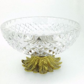 Antique Glass Tazza.
