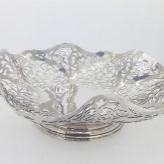 Large Silver Dish.