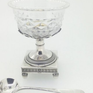 Small Antique Flemish Silver Comport.