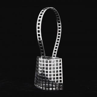 A Josef Hoffmann Wiener Werkstatte silver basket