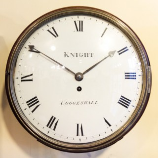 Early Wall  Clock 'Fusee'