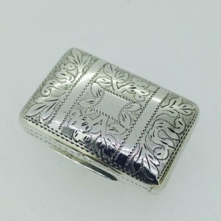Antique t Silver Vinaigrette.