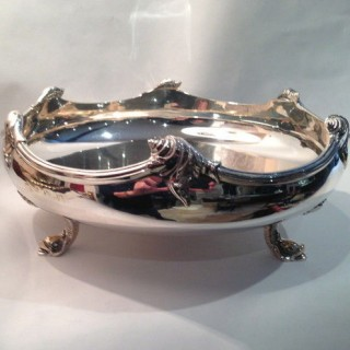 Heavy Antique Silver Bowl.