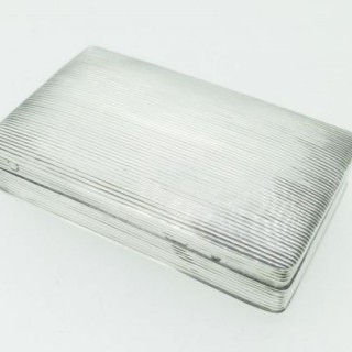 Antique Silver Dutch Box.