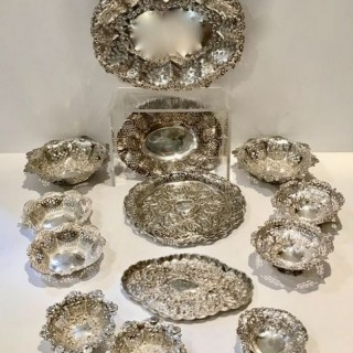 Antique Silver Trays /Dishes