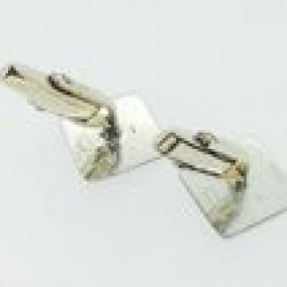 Vintage Silver and Gold Cuff Links.