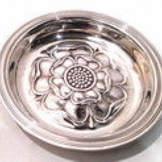 Vintage Silver Pin Tray