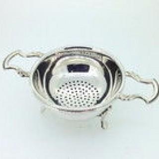 Silver Tea Strainer.