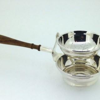 Silver Swing Tea Strainer.
