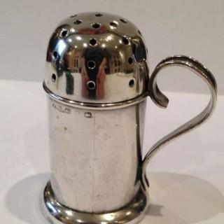 Antique Silver Pepperette.