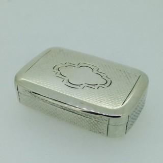 Antique Austrian Silver Snuff Box.