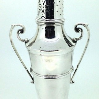 Antique Silver Caster.