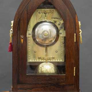 Rosewood Bracket Clock by William Radford, Leeds