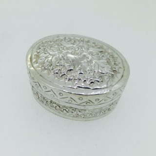 Antique Silver Box.