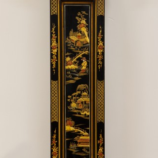 Chinoiserie Decorated Grandmother Clock