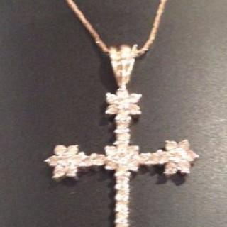 Large Diamond Cross.