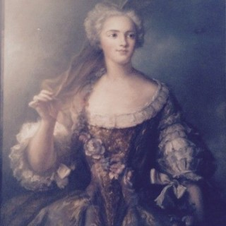 C18th Pastel of Madame Sophie de France.