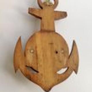 Antique Naval Barometer
