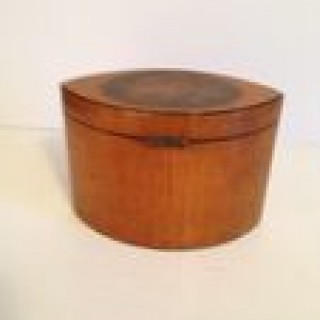 Antique navicular Caddy Box.
