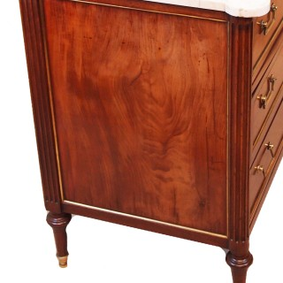French Early 19th Century Antique Mahogany Commode