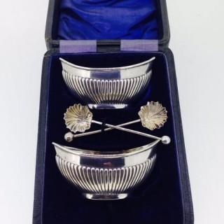 Pair of Silver Salts