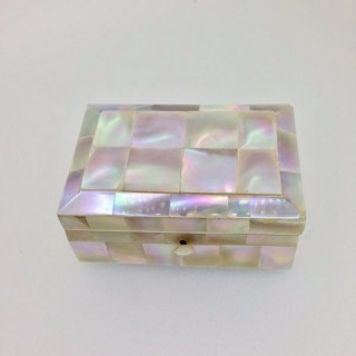 Small Antique Mother of Pearl  Box.