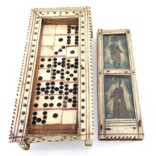 Napoleonic Domino Set.