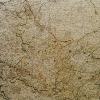 Very Large Map of Picardie.
