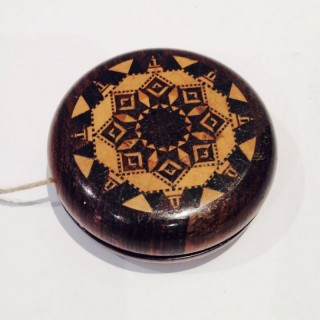 Antique Tunbridge Ware Yoyo.