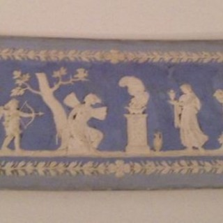 C18th Parian Plaque.