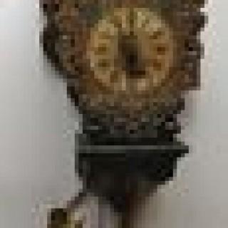 Antique Dutch Frisian Wall Clock, Little Skipper.