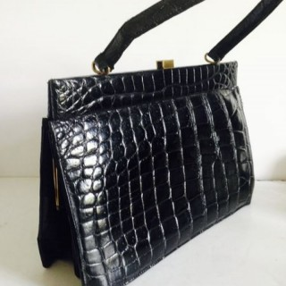 Vintage Crocodile Bag.
