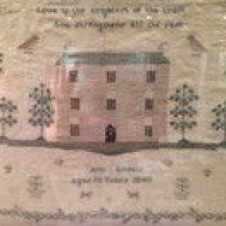 Antique Sampler.