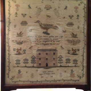 Antique Sampler.