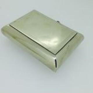 Antique Packtong Tobacco /Snuff Box.
