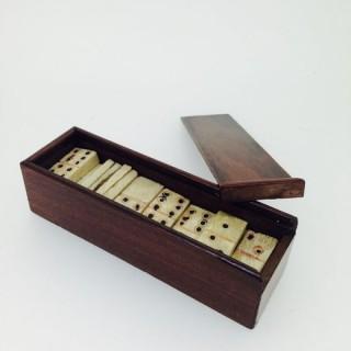 Victorian Small Domino Set.
