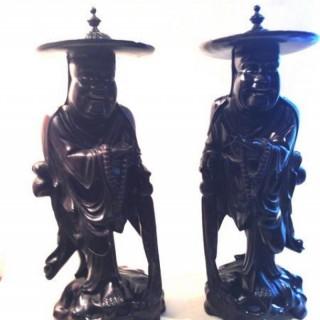 Two Oriental  Root Carvings.