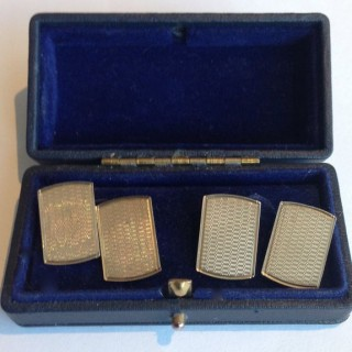 Pair of Vintage Gold Cufflinks.