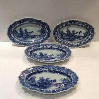 Four Chinese Plates.