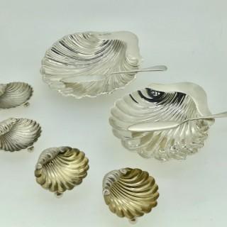 Silver Butter Shells