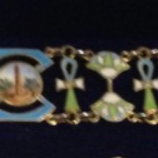 Continental Silver Bracelet.