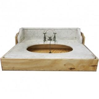 Victorian Marble Sink Surround